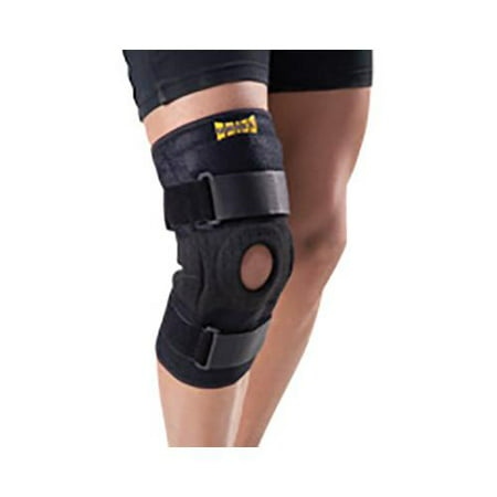 Uriel Sport And Fitness Hinged Knee Brace Compression Sleeve Universal Size