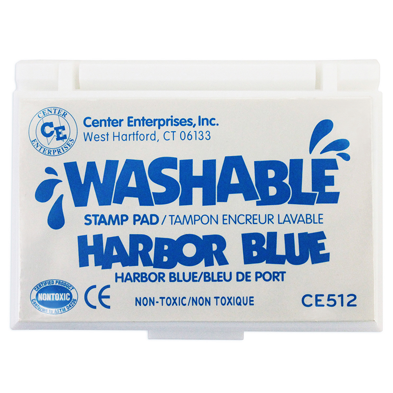 Stamp Pad Washable Harbor Blue - image 1 de 1