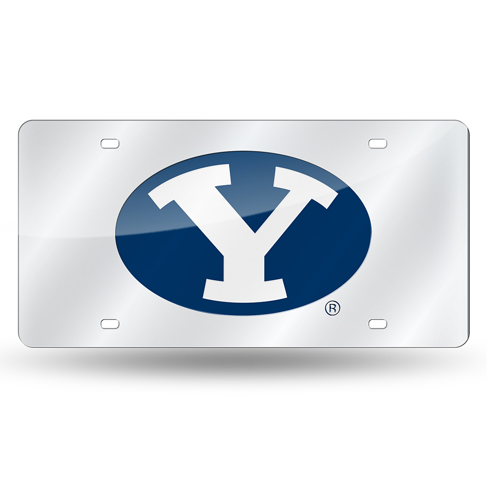 Brigham Young Cougars NCAA Laser Cut License Plate Tag