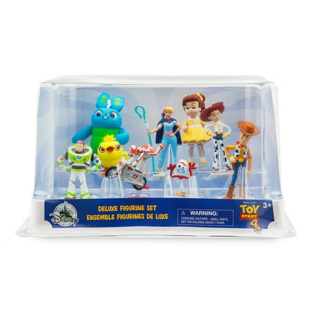Toy Story 4 9 Piece PVC Deluxe Figure
