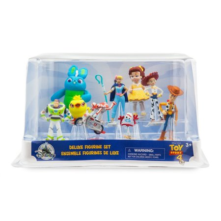 Toy Story 4 9 Piece PVC Deluxe Figure - Pvc Figures Toy