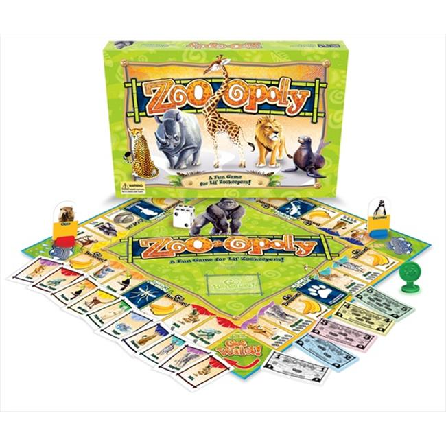 Late for the Sky ZOO Zoo-Opoly Board Game