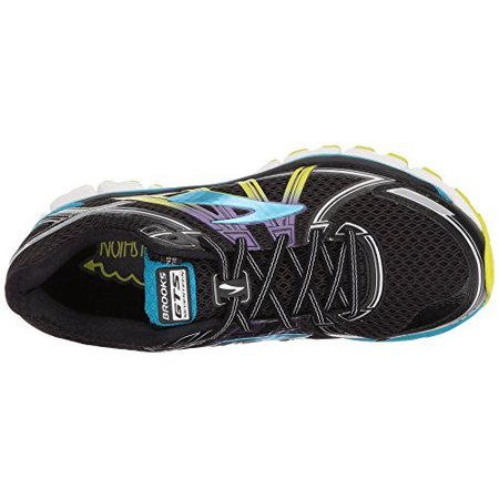 65a747838db8e brooks - women s brooks adrenaline gts 17 running shoe black hawaiian ocean lime  punch size 10 m us - Walmart.com