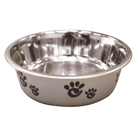 Ethical Ss Dishes-Barcelona Dish- Silver 8 Ounce