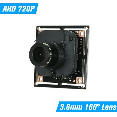 CCTV AHD Camera Module 3.6mm 720P AHD 100 MegaPixel DIY PCB Board Support XVI For MiNi AHD Camera NTSC System