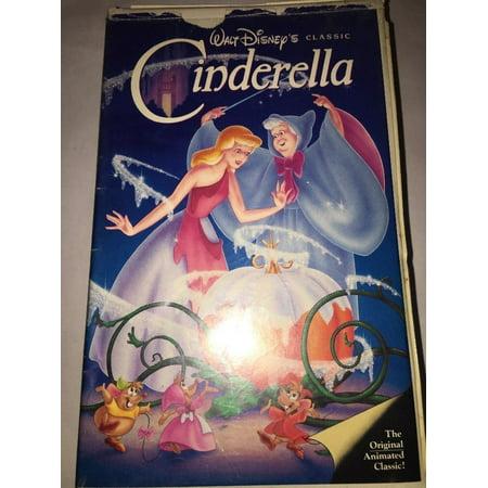 Black And White Halloween Movie Classics (Walt Disney black diamond classics Cinderella vhs 410)