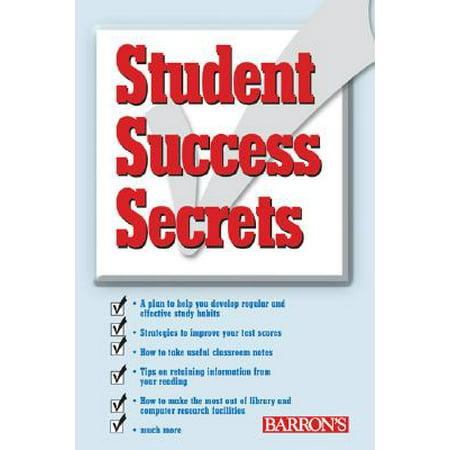 Student Success Secrets (Eric Thomas The Secret To Success Paperback)