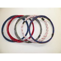 20 GXL HIGH TEMP AUTOMOTIVE WIRE 5 STRIPED COLORS 25 FEET EACH 125 FEET TOTAL