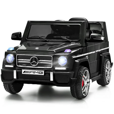 Costway Mercedes Benz G65 Licensed 12V Electric Kids Ride On Car RC Remote Control