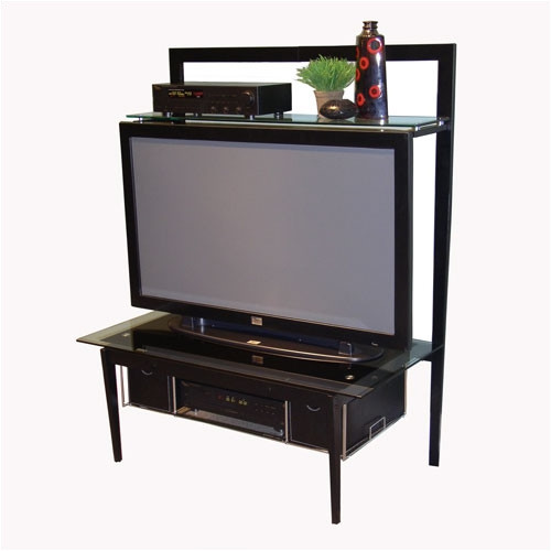 Walmart Cm: Cherry TV Stand With Swivel Top, For TVs Up To 32
