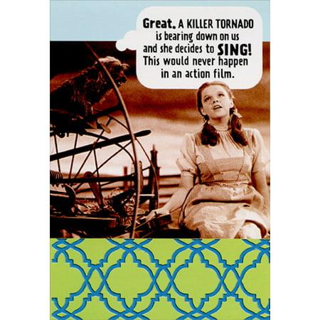 Hallmark Dorothy And Killer Tornado Funny Humorous Wizard Of Oz