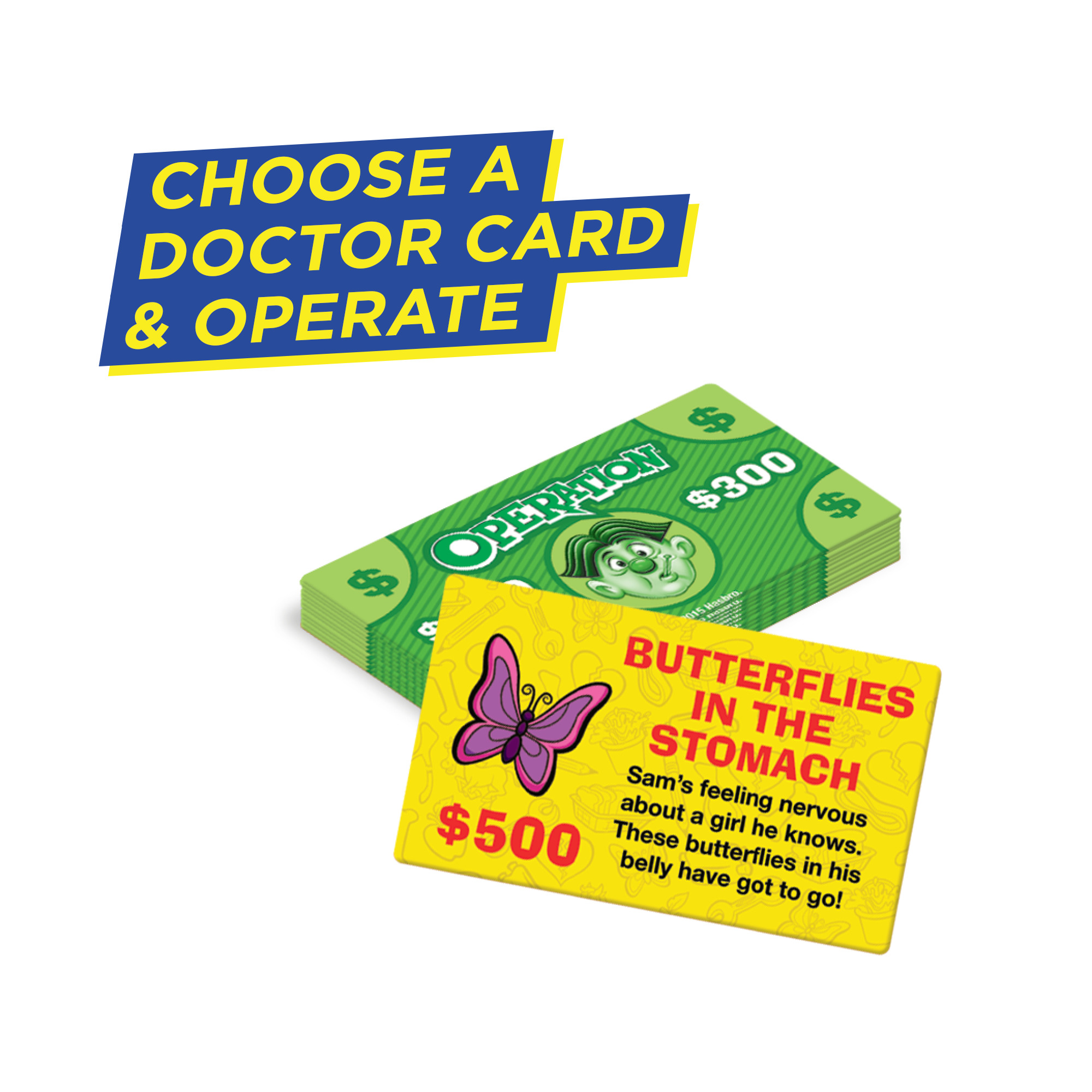 BUTTERFLY Operation Game Replacement Part Piece Parts Pieces