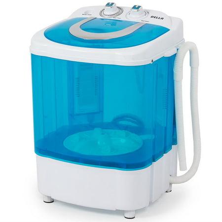 Della Electric Small Mini Portable Compact Washer Washing