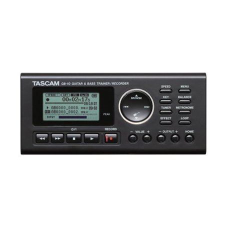 Tascam GB10 Guitar/Bass Trainer With Recorder (Tascam Tascam Guitar Trainer)