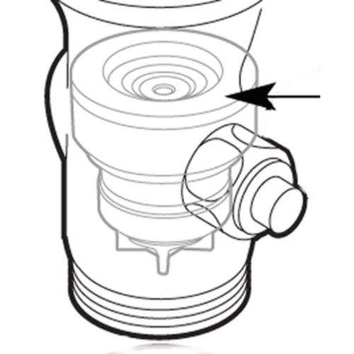 104437 Flush valve piston control disc