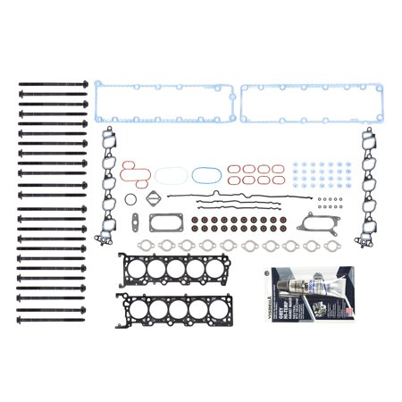 Evergreen HSHB8-21210 Head Gasket Bolts Set Fit 03-12 Ford E350 E450 F350 F450 F550 Super Duty 6.8