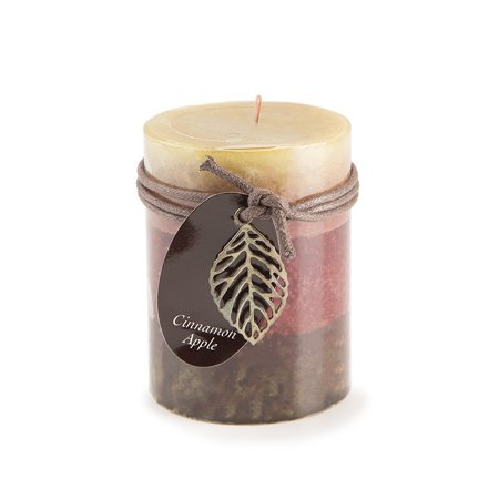 Dynamic Collections Pillar Candle: Cinnamon Apple, 3x4 in