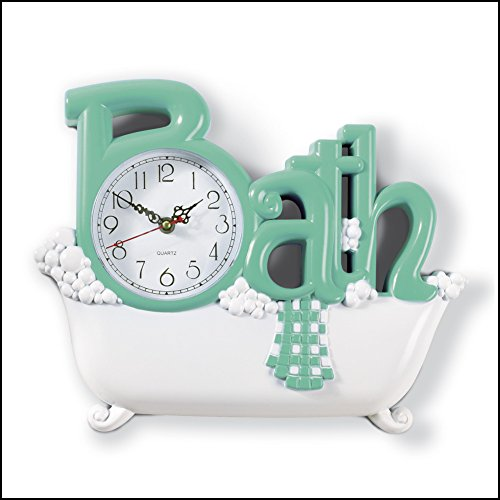 bathroom wall clock green  walmart,