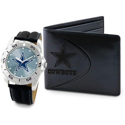 Game Time NFL Men's Dallas Cowboys Watch and Wallet
