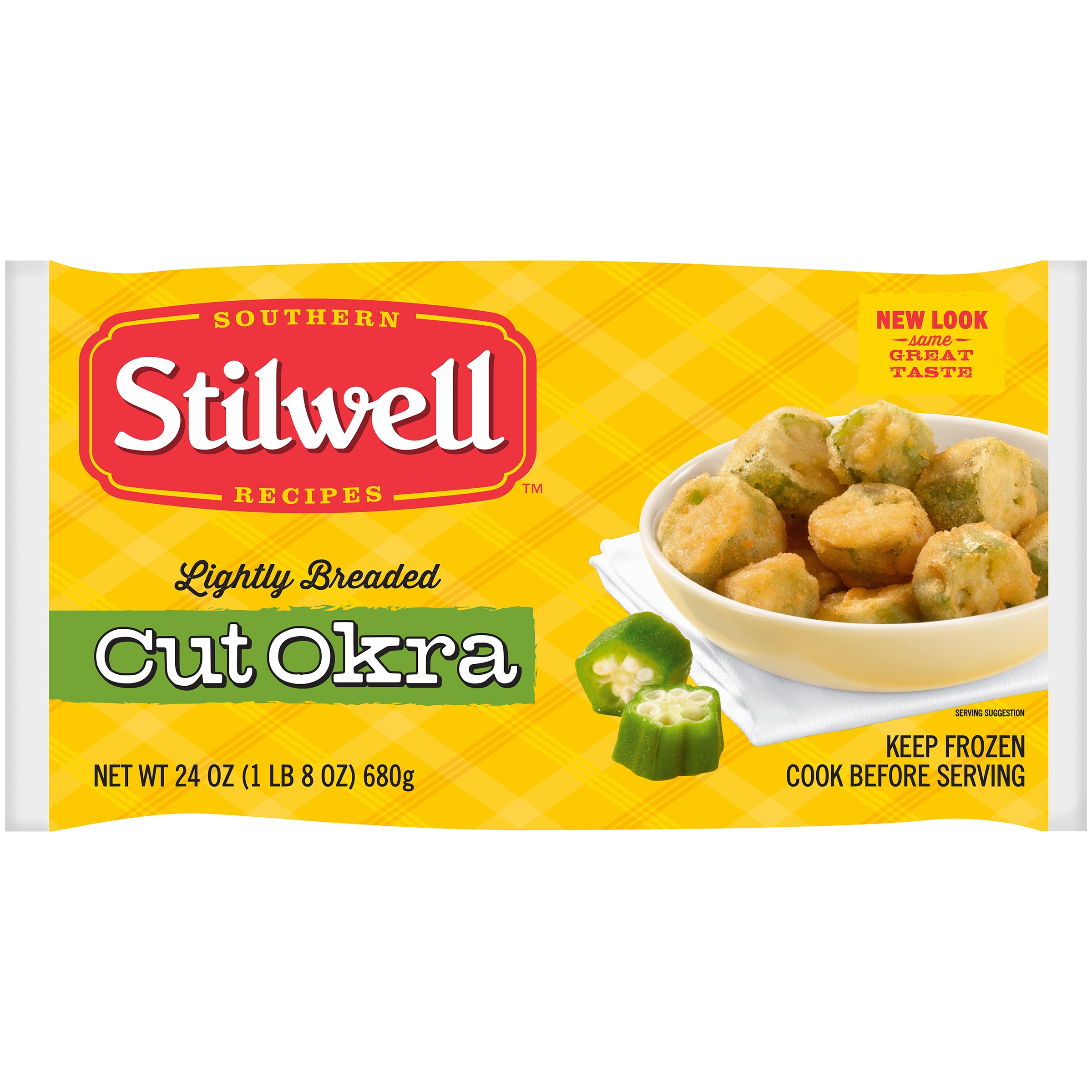 Stilwell™ Lightly Breaded Cut Okra 24 oz. Box