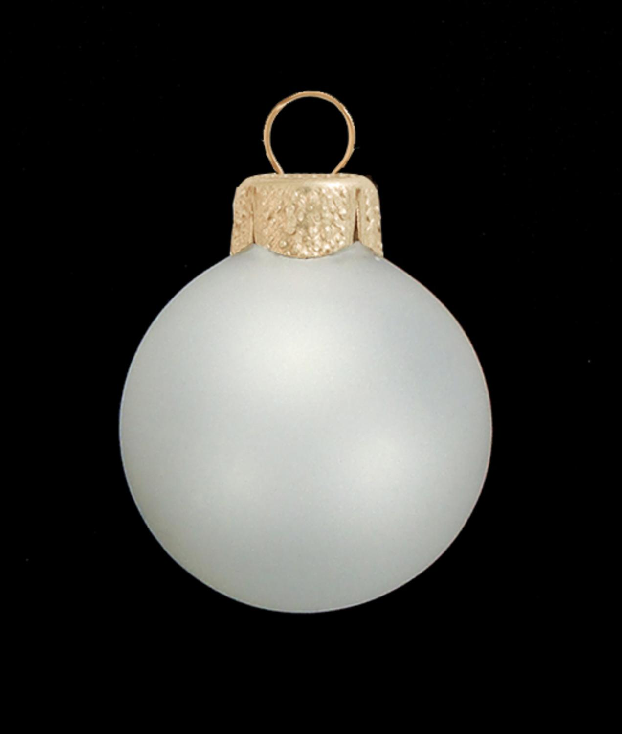 Clear plastic christmas ornament - 12ct Clear Frost Glass Ball Christmas Ornaments 2 75 70mm