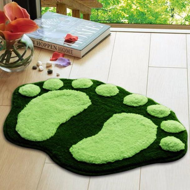 Soft Feet Memory Foam Bath Bathroom Bedroom Floor Shower Mat Rug