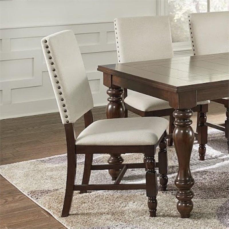 Progressive Sanctuary Dining Side Chair in Cherry (Set of 2) - image 2 de 3