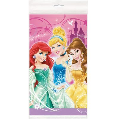 Disney Princess Plastic Table Cover-1 ct (Disney Princess Table Cover)