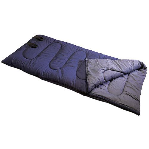 Texsport High Plains 35-Degree Adult Sleeping Bag, Blue/Gray