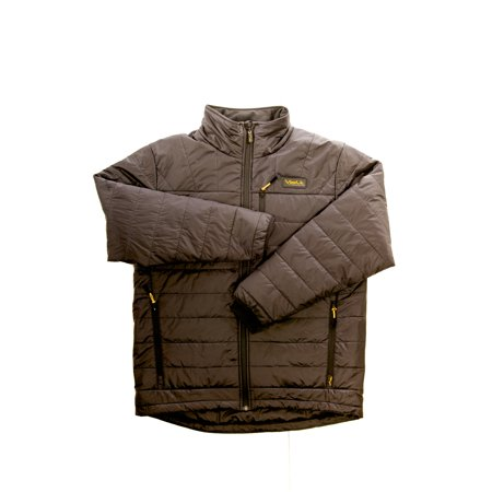 Volt Heat Mens Black Quilted Nylon Cracow Insulated Cold Weather Jacket  Xxl