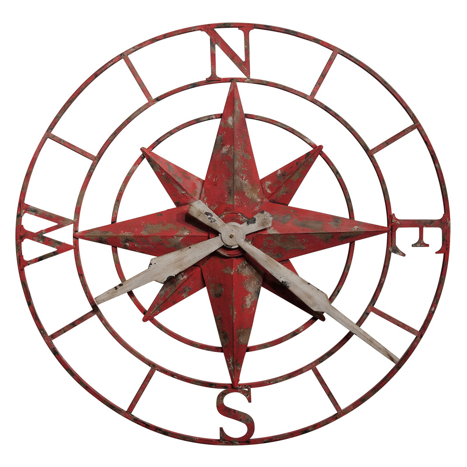Howard Miller Compass Rose 32 in. Wall Clock