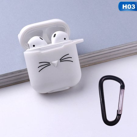 AkoaDa Cute Lovely Cat Silicone Protective Case Cover Airpods Charging Case For Apple Airpods(Airpods Not Included) AkoaDa Cute Lovely Cat Silicone Protective Case Cover Airpods Charging Case For Apple Airpods(Airpods Not Included)