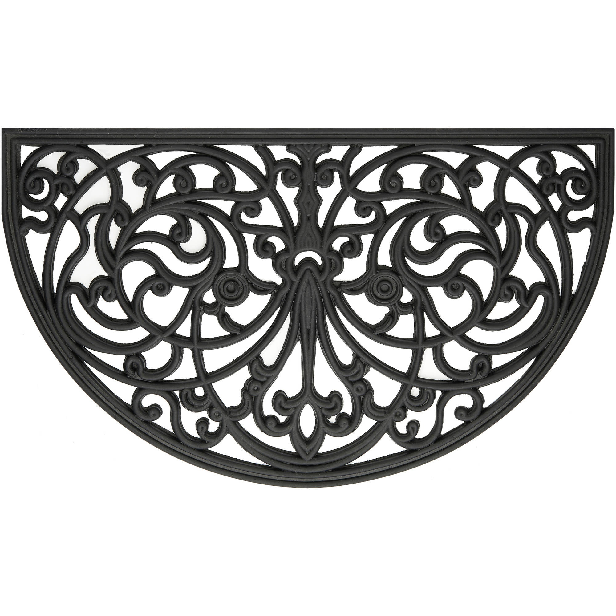 """Wrought Iron Rubber Doormat Ironworks, 18"""" x 30"""" by Achim Importing Co. Inc"""