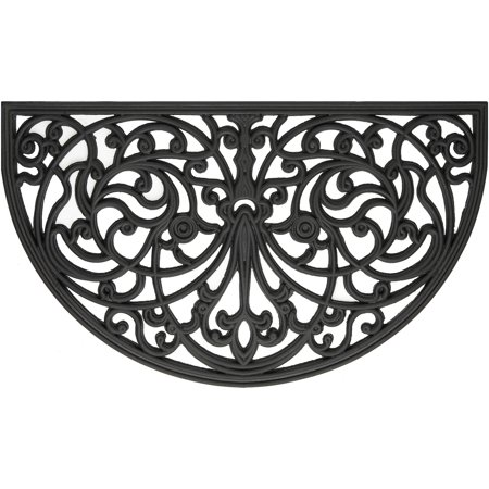 Achim Wrought Iron Rubber Doormat Ironworks, 18
