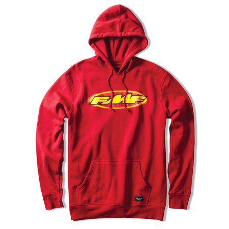 FMF APPAREL Don Pullover Hoody Red XL  F33121105-RED-XL