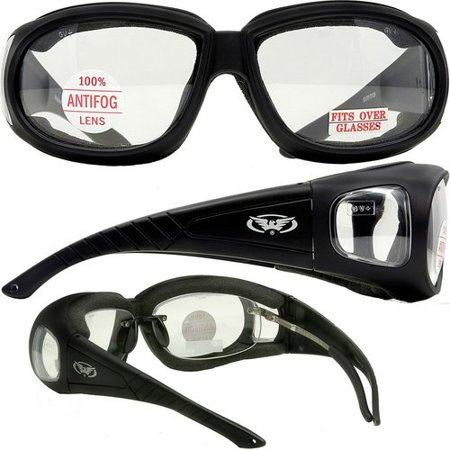 Outfitter clear motorcycle glasses. Over-Prescription (Perscription Motorcycle Glasses)
