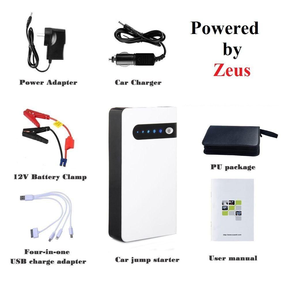 Zeus Jump Start Battery Emergency Car Jump Starter Power ...