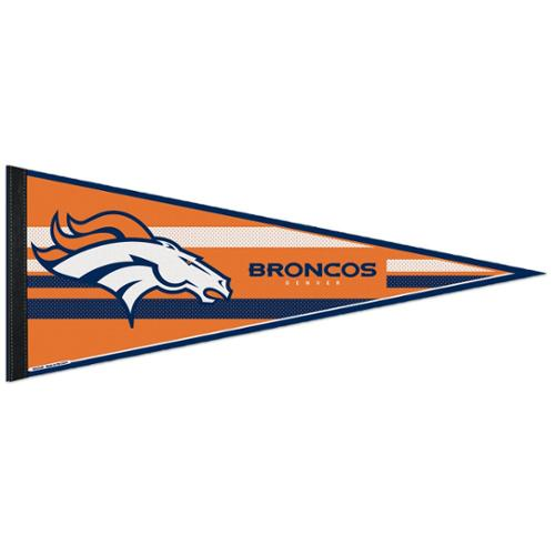 Denver Broncos Official NFL 12 inch x 30 inch  Felt Pennant by Wincraft