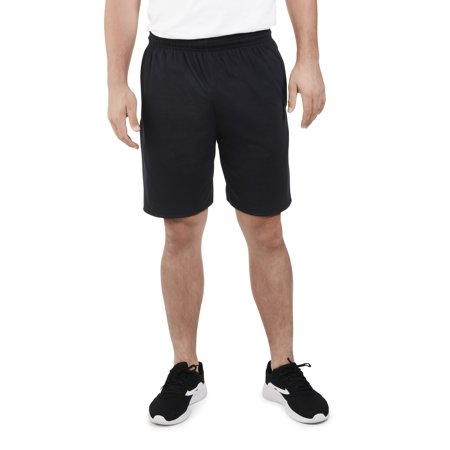 Big Men's Dual Defense UPF Jersey Shorts with Pockets (Short Gym Shorts For Men)