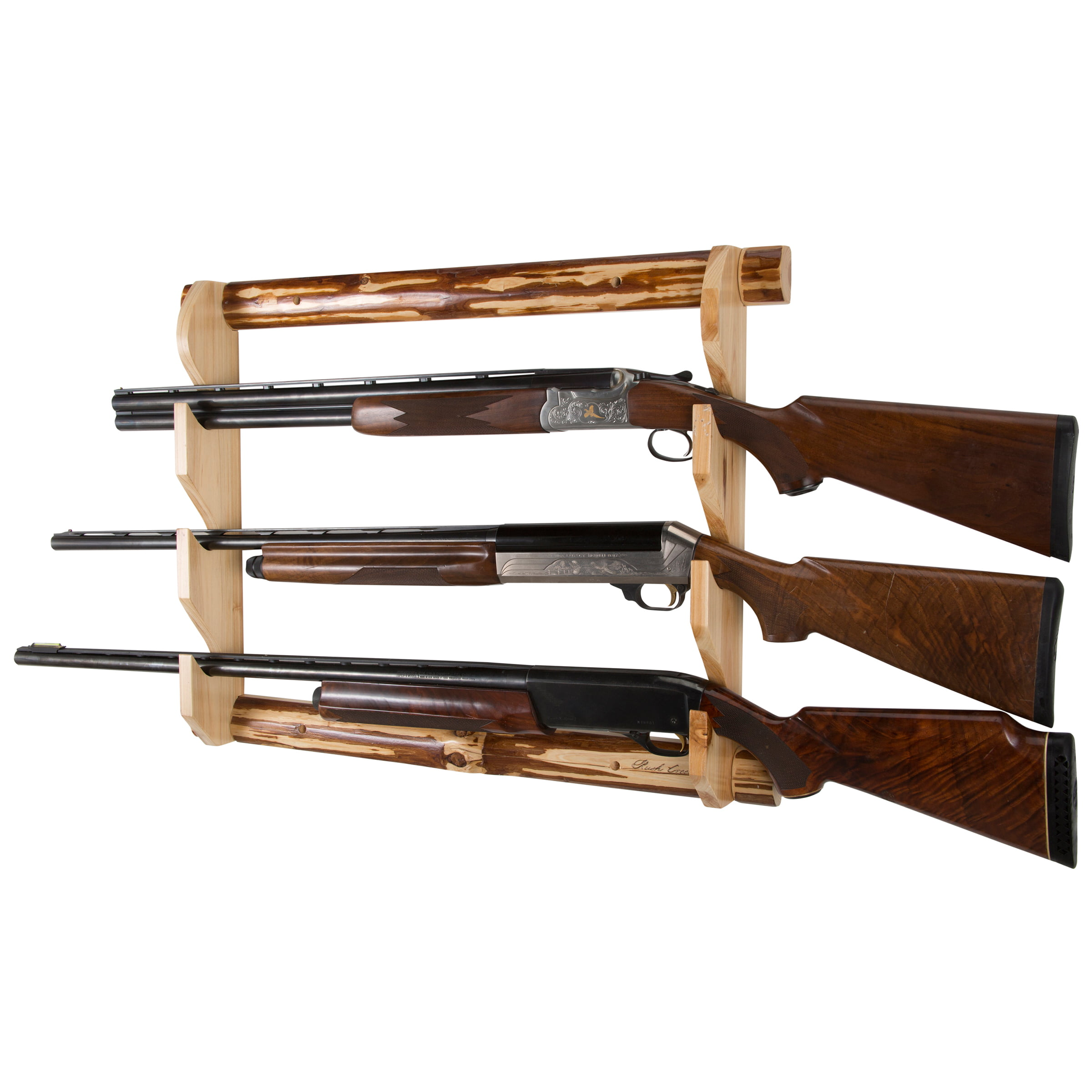 3-Gun Wall Rack by Rush Creek Creations