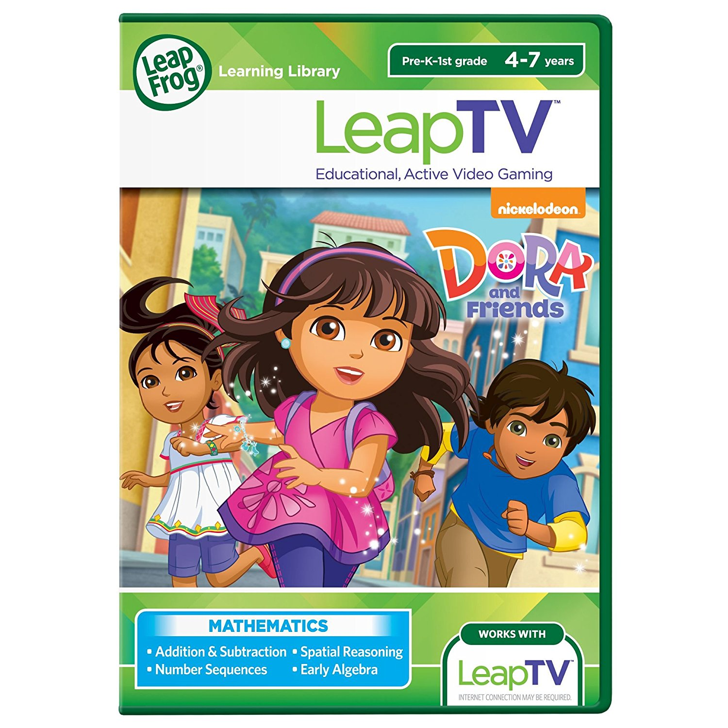 LeapTV Nickelodeon Dora and Friends Educational, Active Video Game By LeapFrog