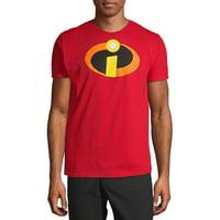 The Incredibles Pixar Men's and Big Men's Graphic T-shirt
