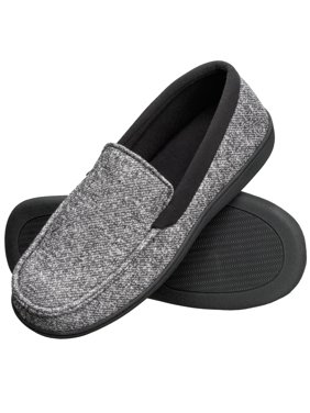 ebbd3eda9a4991 Product Image Hanes Men s Slippers House Shoes Moccasin Comfort Memory Foam  Indoor Outdoor Fresh IQ