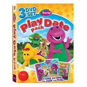 Barney: Play Date Pack, Let's Pretend with Barney   Can You Sing That Song? by Trimark Home Video