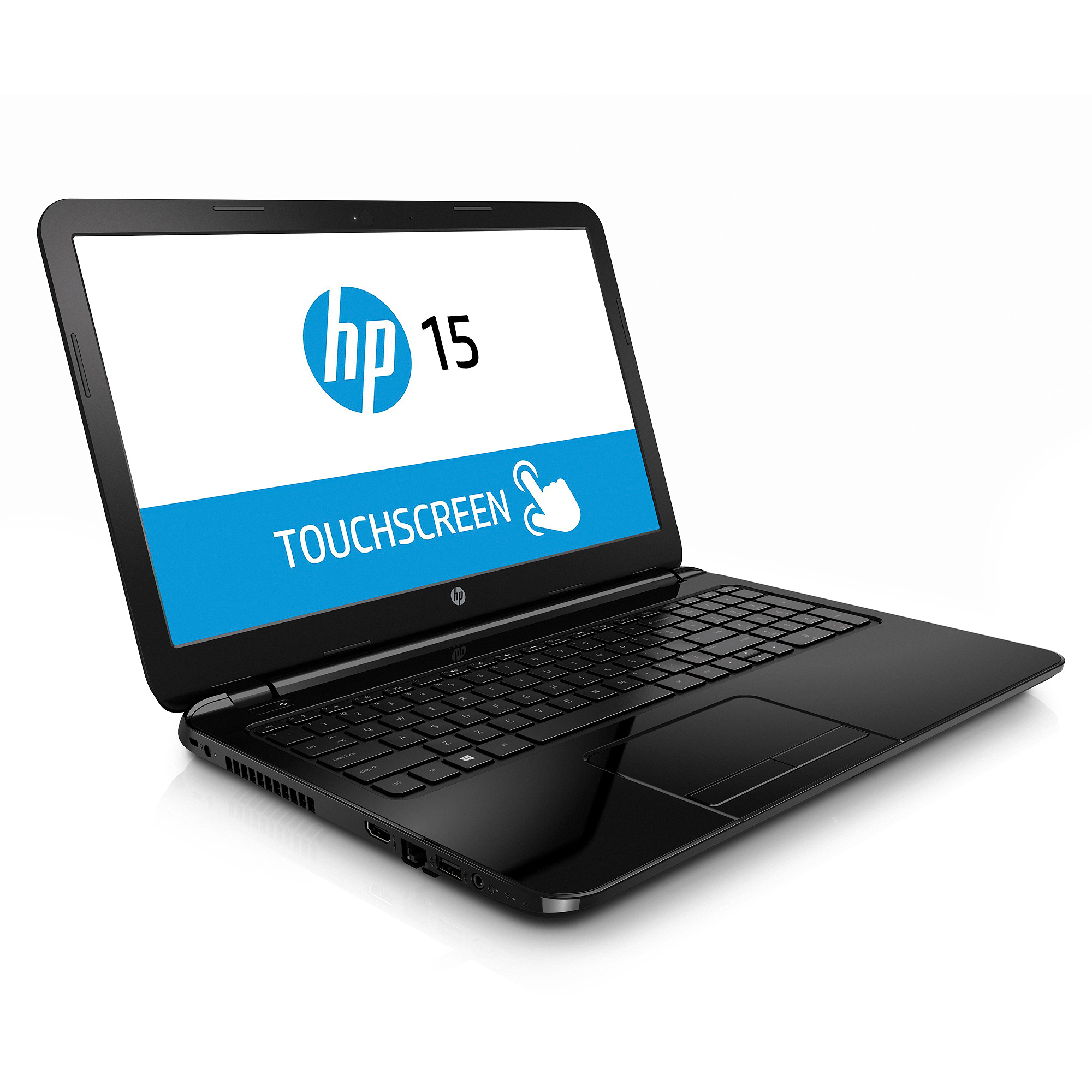 "HP Black Licorice 15.6"" Touch 15-g059wm Laptop PC with AMD Quad-Core A8-6410 Processor, 4GB Memory, touch screen, 750GB Hard Drive and Windows 8.1  (Free Windows 10 Upgrade before July 29, 2016)"