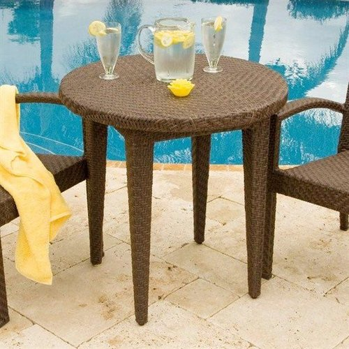 Hospitality Rattan 903-3305-JBP Soho Outdoor Round Dining Table