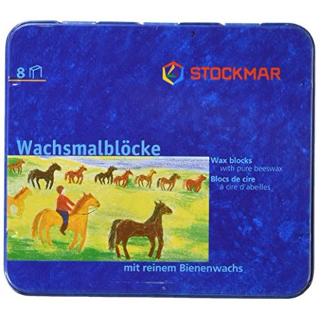 - Stockmar Wax Blocks - 8 colours Waldorf assortment