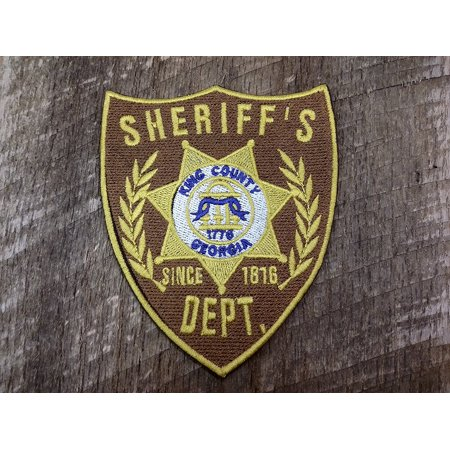 Sheriffs Department Patch - The Walking Dead Sheriff Department King County Embroidered Patch