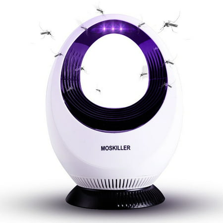 Original Indoor Insect Trap: Bug, Fruit Fly, Gnat, Mosquito Killer - UV Light, Fan, Sticky Glue Boards Trap Even The Tiniest Flying Bugs - No Zapper - Child Safe, (Mosquito Magnet Patriot Plus Electronic Mosquito Trap)