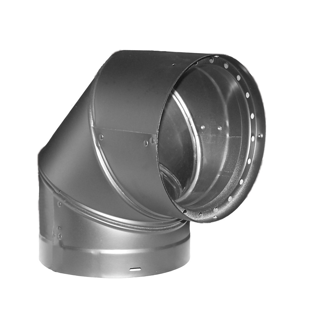 "DuraVent 6DVL-E90 6"" Inner Diameter - DVL Stove Pipe - Double Wall - 90 Degree Elbow"